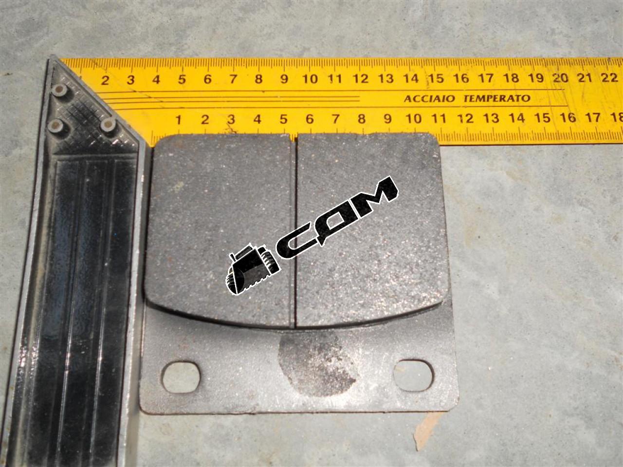 Колодка тормозная CDM816  ZL15.5.1
